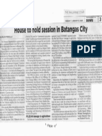 Philippine Star, Jan. 21, 2020, House to hold session in Batangas City.pdf