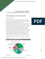 Isopropyl Alcohol (IPA) - Chemical Economics Handbook (CEH) _ IHS Markit.pdf