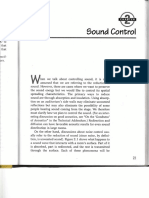 Chapter-2, Sound Control
