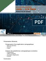 Introduction Au Web Mapping - Du Code A La Carte