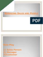 Managing Sales & People