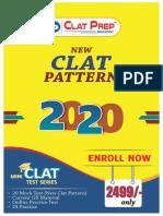 CLAT Sample Paper 2020 (ClatPrep Education).pdf