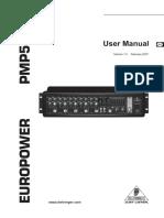 BERINGER PMP518M User Manual