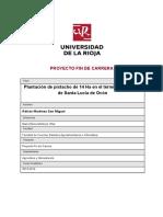 PLANTACION DE PISTACHOS DE 14 HA EN LA RIOJA