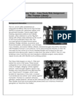 Tokyo War Crimes - Case Study Web Assignment