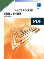 Jfe Thin Hot Rolled Steel Sheet