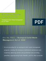 The Salient Features of RA 9003
