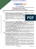 Vision IAS Prelims 2020 Test 18 S