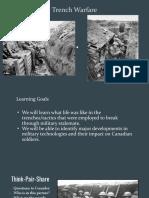 lesson 4 - trench warfare