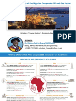 The Competitiveness of the Nigerian Deepwater Oil and Gas Sector