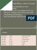 Asam,Basa,Campuran Klasifikasi Materi
