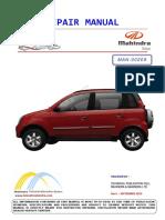 Mahindra QUANTO Repair Manual Part 1 of 4 MAN 00209 Rev 1.pdf