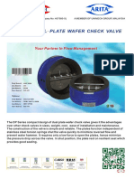 DP SERIES WAFER CHECK VALVE CI