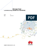 Huawei SAN Storage Host Connectivity Guide for Windows