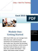 Excel 2010 Advanced PPT