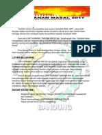 Proposal dan Rencana Anggaran Biaya Khitanan