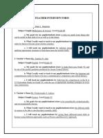 Field study 6