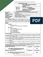 115 Progress report No. 1 re Enc of 92DRC at Brgy Salvacion, Ragay,CS