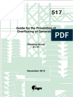 517 Guide for the Prevention of Overfluxing of Generators