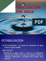 POTABILIZACION DEL AGUA exp.