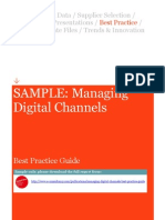 Managing Digital Channels Best Practice Guide