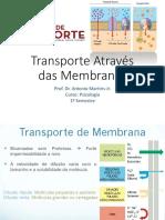 Transporte Através das Membranas