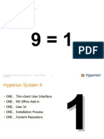 Hyperion User Group - MICHIGAN