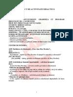 proiect didactic interat in asteptarea lui mos nicolae