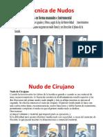 Técnica de Nudos 2018.pptx