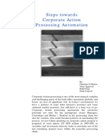 Corporate Action Processing