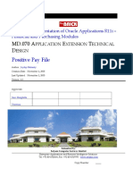 PPAY MD070 Application Extensions Technical Design V1.0