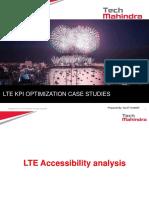 LTE KPI Optimization Case studies