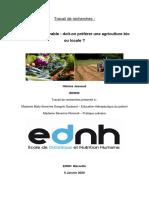 tr agriculture bio ou locale
