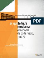 modernismo cidades de porte medio