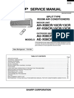 Sharp - AC Inverter AYX08 Service Manual.pdf