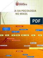 AULA DA PSICOLOGIA NO BRASIL