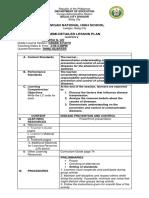 graded observation LP (health) grade 8