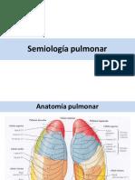 semiologia pulmon