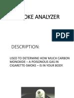 SMOKE ANALYZER -s