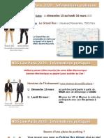 Informations Pratiques Live NBS 2020 Le Grand Rex