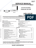 Sharp 14-21 D1S 14-21D2S_G chassis_GA1AM Service Manual