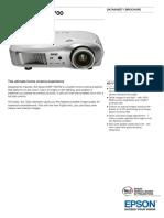 Epson EMP TW700 Datasheet