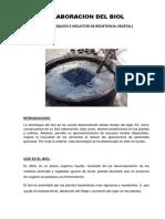 Elaboracion del BIOL documento