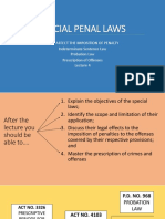 Penal laws special