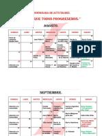 Cronograma de Actividades adriana politica.