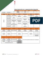 Horario Academico Basico PCAD II-2019 Inicial