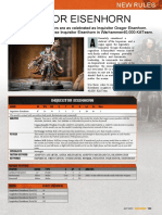 Kill Team - WD Supplement - Eisenhorn and Demons