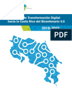 Estrategia de Trasnformación Digital Costa Rica 4.0