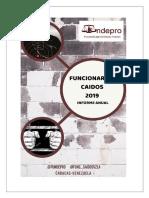 Informe 2019 Funcionarios Caídos