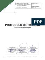PR-SGI-04 PROTOCOLO DE VELOCIDADES